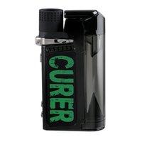 Original LTQ Curer Curer Kit de cera de erva seco 3-em-1 kits com bobina substituível 1600mAh bateria temp controle de água filtro de água tubos herbais