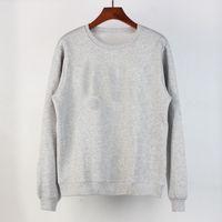 XS-4XL 고품질 Womens 후드 티 스웨터 느슨한 여성 가을과 겨울 여자 남자 까마귀 캐주얼 100 % 코튼 후드 솔리드 컬러 인쇄 의류 도매