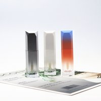 5ml Gradient Color Lipgloss Plastic bottle Containers Empty Clear Lip gloss Tube Eyeliner Eyelash Container HWD10888