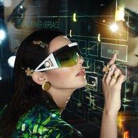 선글라스 여름 남자 여자 거리 유니섹스 해변 태양 안경 패션 브랜드 디자인 UV400 고품질