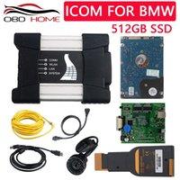 EST 2021 ODB2 Outil de diagnostic Programmation de voiture ICOM Next WiFi avec 512 Go SSD Software pour A2 + B + C 3 en 1 Outils