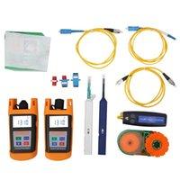 Outdoor Gadgets Tool Kit Loss Test Fiber Optic Power Meter Optical Light Source Industry Sensor Communication Equipment