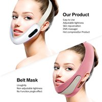 V Line Microcurrent Massager For Face Lift Slimming Machine Electric Double Chin Remover Cheek Lifting Facial Shape DeviceRabin