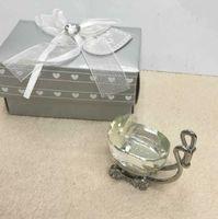 Favor de la fiesta regalos de la ducha india para el cochecito de cristal de los huéspedes Present Fiesta Favors Favors Baby Souvenir E Z69N