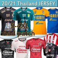 Liga MX 2020 2021 Fussball Jerseys Camisetas Hombres Chándal de Fútbol Club Necaxa Leon FC Tigres Uanl Tijuana Männer Kits Football Hemden