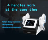 High-Intensity Electro-Magnetic EMS Dissolve Fat Burner Stimulate Muscle Building Weight Loss EMbodysculpting Slimming Machine