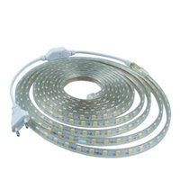Strips 5M 10M 15M 20M 25M 30M LED Strip 220V AC Waterproof 120LEDs M 2835 SMD Garden Outdoor Lights Holiday Christmas Deccoration Lamp