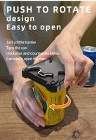 Abridor de latas Multifuncional Universal Topless Manual Cerveja Cola Garrafas Abridores de Cozinha Gadgets Bar Ferramenta