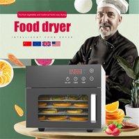 Aspirateurs Déshydrateur Machine à 4 couches Séchoir à température réglable à 4 couches pour la viande Beef et Légumes 4 plateaux