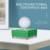 Golf Training Aids Creative Multifunctional Retractable Toothpick Tissue Box Ashtray Practical And Convenient Gift For Lovers