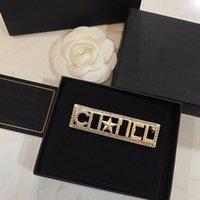 L-C5 Damen Designer Broschen Klassischer Brief Logo Square Hochwertige Brosche Luxus Schmuck Großhandelemedher's Day Geschenke