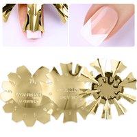 Klassische Schneider Nail Art Stamping Templates Werkzeug C Form Smile Line Tips Cutter Französisch Trimmer Convenience Usage Tools