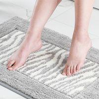 Carpets 50*60cm Bathroom Mat Floor Bottom Non Slip Door Way Rugs Decor Carpet Bedroom Shower Rug