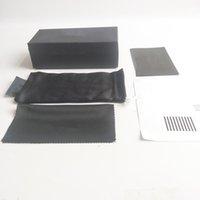 ブラックブランドスポーツサングラスボックス5ピースメガネパッケージ2021高品質アイウェアバッグ布卸売