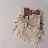 Waistcoat MILANCEL 2021 Baby Clothes Lace Girls Vest Toddler Clothing