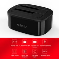 3.0 To SATA External Hard Drive Docking Station For 2.5 3.5 HDD SSD Tool Duplicator Stations