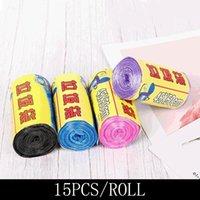 HOOKS RAILS 1 * 15PCS / ROLL 50cm x 45cm Plast Engångsavfall Fyra typer av Välj färg för lagring