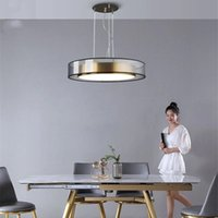 Post-Modern Restaurant Dining Room Kitchen Hanging Ceiling Lights Nordic Simple Luxury Led Bedroom Living Lamp