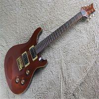 Top Quality Custom 24 SE Electric Guitar Tran Red Quilt Birds HSC