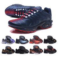 2021 고품질 망 러닝 신발 증기 플러스 TN 트레이너 TNS 레드 흑요석 깊은 로얄 Be True Chausuures Maxes Sneakers 40-46