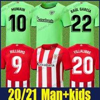 Bilbao Williams Futbol Formaları Atletik I.Martinez Raul Garcia Villalibre Futbol Forması Yuri B. Muniain Yerhal Gömlek Yetişkin Erkek ve Çocuk Kiti Camiseta de Leones 21/22