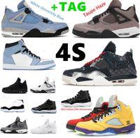 Basketbol Ayakkabıları 11 Jubilee 25th Yıldönümü 4 Kara Kedi Birliği La Guava Düşük Concord Mavi Beyaz Bred Uzay Reçel 11s Sneakers