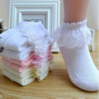 Çorap Yaz Moda Çocuklar Bebek Kız Geri Çorap Sevimli Strokes Wagon Tasarımcı Kızlar için Beyaz Pembe Kenar Çocuk Kediler