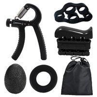 Accessories Grip Strength Device R Fitness Finger Adjustable 5-Piece Set Professional Practice Hand Stregth Ball Circle Black