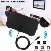 1080p interior de televisión digital antena antena receptor Amplificador TV Radius Surf Fox Antena HDTV Antenas Mini DVB-T / T2 OPP bolsa