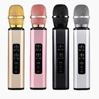 Hight Qualität K6 Bluetooth Mikrofon Tragbare Handheld Wireless KTV Sing Karaoke Player Lautsprecher Mikrofon Lautsprecher für iPhone 13 Plus Samsung S20 Smartphone vs Q7 Q9