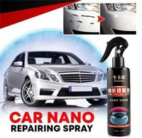 Mats & Pads 120ml Car Paint Care Nano Repairing Spray Oxidation Liquid Ceramic Coat Hydrophobic Glass Protect Your From Scratching Auto
