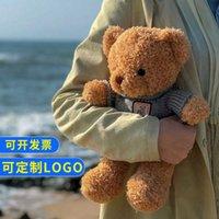 Cuddle panda teddy bear dress little bear doll cute plush toy children's gift