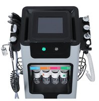 Directly effect skin clean lift rejuvenation Multi-function Microdermoabrasion facial 9 in 1 SkinCare Water Grinding H2O2 Bubbles Cleaning Hydrafacial Machine