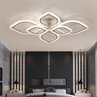 Ceiling Lights Modern Acrylic LED Light Frames Large Luxury Lamp For Living Dining Bed Room Luster Avize