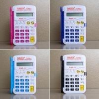 iDH color calculators 328 mini portable flip top computer primary school student color stationery 328 calculator mini portable flip top com