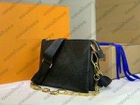 حقيبة مصمم كوسين رئيس الوزراء تنقش حقيبة يد جلدية مصممين الفمز إمرأة عبر الجسم مقبض أكياس سلسلة محفظة محفظة M57792 M57913 M57790
