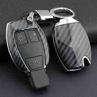 Carbon Fiber Hard Car Key Fob Chain Cover Case For Mercedes- W205 W212 X253 W166 X204 X166 W176 W246 W204 W222 W463 X156