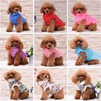Зимняя домашняя одежда ветрозащитная собака жилет пуховик мягкий щенок маленькие собаки одежда теплый наряд жир йорки одежда для домашних животных 527 S2