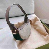 패션 하드웨어와 겨드랑이 가방 겨드랑이 가방 고품질 고품질 ophidia 어깨 가방 디자이너 레이디 빈티지 핸드백 지갑