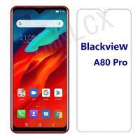 Blackview A80 Pro 강화 유리 보호 2.5D 9H 고품질 A80Pro 화면 보호기 필름 커버 휴대 전화 보호 장치