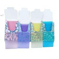 Misuratore anti-polvere mono polvere mini sapone di viaggio per la lavorazione della carta lavaggio a mano tablet fuoriuscita prodotti di pulizia 4 colori fogli profumati BWF10211