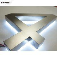 10 '' Factory Outlet 304 Edelstahl Backlit LED Hausnummer Zeichen Andere Tür Hardware