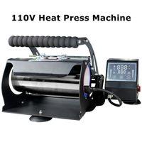 Yerel Depo !! Süblimasyon Machinng Isı Basın Makinesi Yazıcı 20 oz için Uygun Düz Tumblers 110 V Termal Transfer Makineleri A02