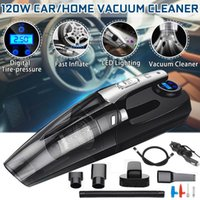 Palmare 4 in 1 con pneumatico digitale pneumatico pompa Pompa manometro LED Aspirapolvere per auto per auto auto