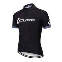 Cube Pro Team Men's Cycling Mangas cortas Jersey Camisas Racing Camisas Montar en bicicleta Tops transpirable deportes al aire libre Maillot S210052806