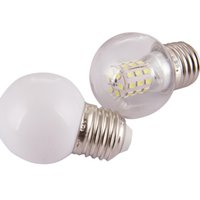 Lampadina a LED G14 5W E27 Medio Base Caldo Bianco Blubs Tiny Bulbi per camera da letto Ventilatore da soffitto Lampada da tavolo Illuminazione Crestech