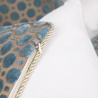 Coussin de coussin de velours de luxe 40x60cm couvre-oreillers décoratifs décor à la maison décor de coussin de coussin de coussin de coussin