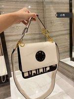هدية مربع التعبئة والتغليف kan أنا سلسلة الأجهزة الأصلية والأبيض حقيبة الكتف المرأة الحجم 22 سنتيمتر
