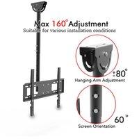 """Leadzm TMC-7006 Deckenmontage TV-Wandhalterungsdach-Rack-Pole einziehbar für 32 """"-70"""" Flachbildschirm"""