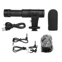 Mic-07 Pro Metal Microphone Phone ميكروفون ميكروفون لايف التصميم المحمول للسينما والتلفزيون تسجيل الميكروفونات